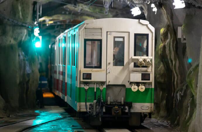 工事用トロッコ電車